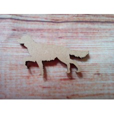 Irish Setter Dog Laser Cut 50mm pack of 10